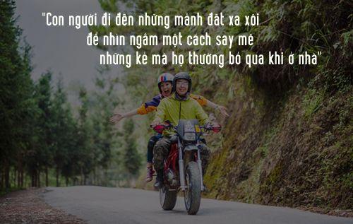 Câu nói hay về đường đi