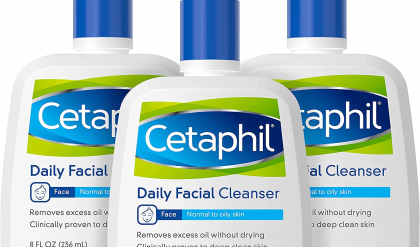 sử dụng sữa rửa mặt cetaphil bị nổi mụn